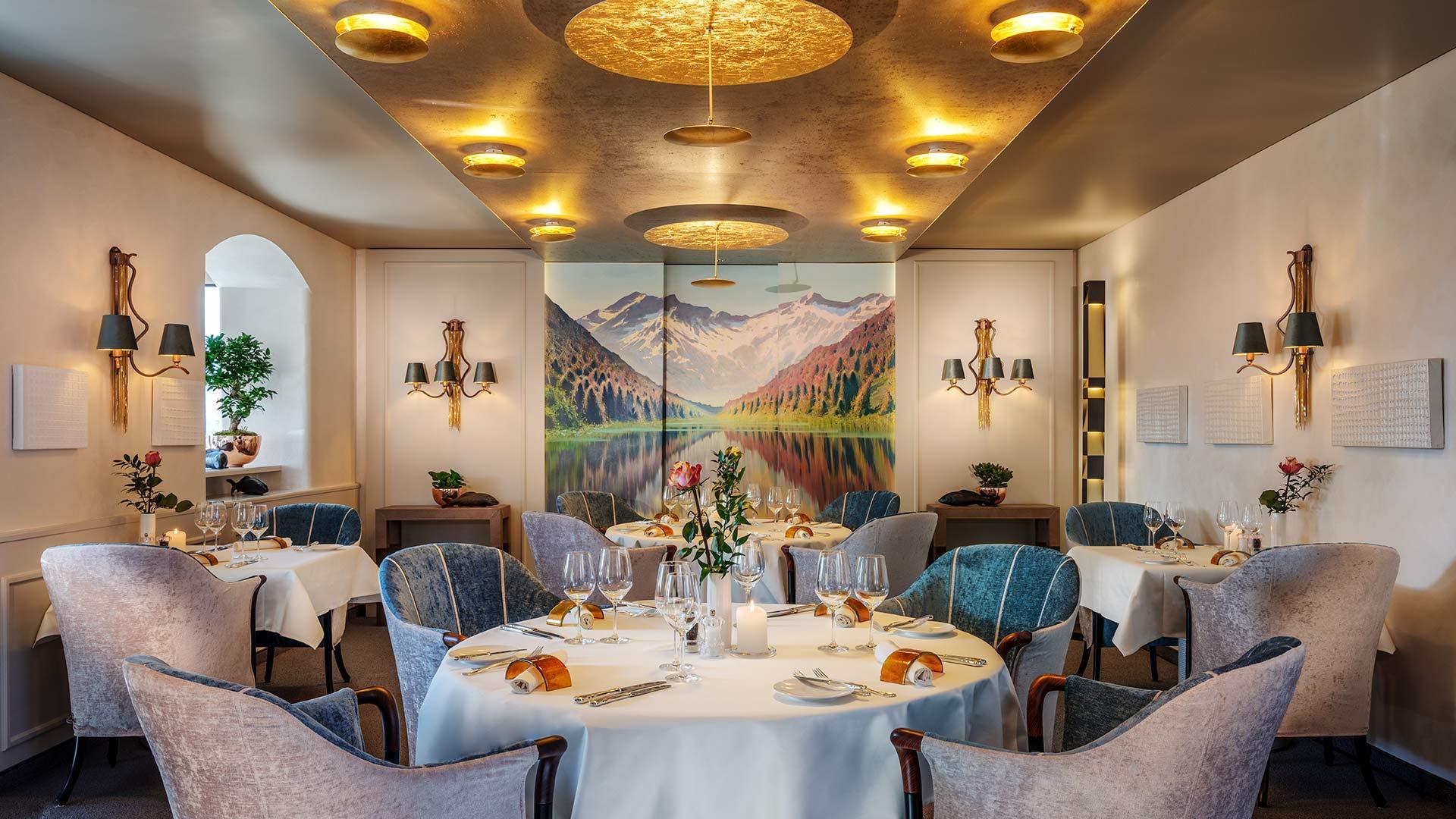 Restaurant Maree Vaduz Liechtenstein Ein Michelin Stern Zwei